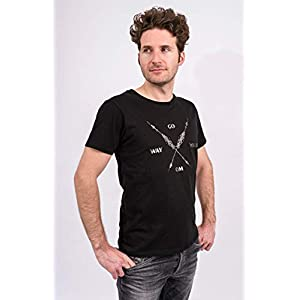 Flying Love Birds Shirt Arrow Warrior, Men – Black