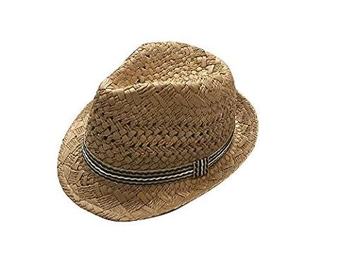 Ruban Pour Chapeau - JTC Unisexe Chapeau Panama de Paille Fedora
