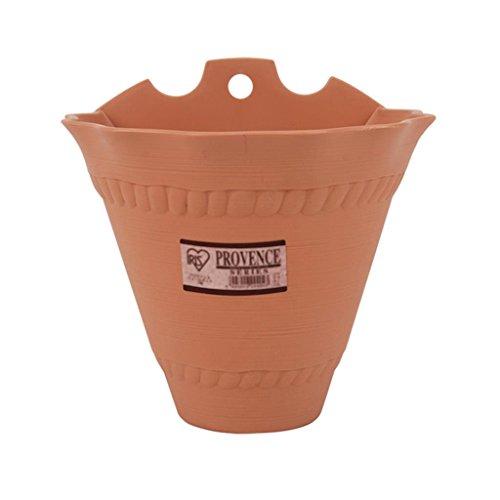 DELLT- Motif Wavy Longue Pots de fleurs Pots de fleurs en plastique non - toxiques Pots Pots de fleurs ( taille : # 8 )