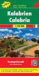 Kalabrien, Autokarte, 1:150.000, Top 10 Tips: Toeristische wegenkaart 1:150 000 (freytag & berndt Auto + Freizeitkarten)