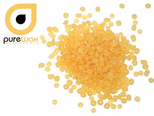 Wachsperlen für Haarentferneung ohne Haarentfernungs-Streifen, Farbe honigblond 800g + 200 g...