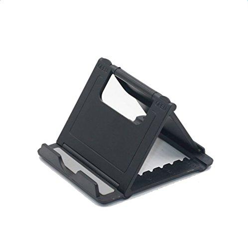 DaoRier Nachttisch Halterung Tablet-Computer-Halter Handyhalterung KFZ Halterung Universal für iPhone,iPad,Samusung,Huawei,LG und mehr (Schwarz)