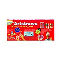 Artstraws Long, Pack of 300, Assorted Colours