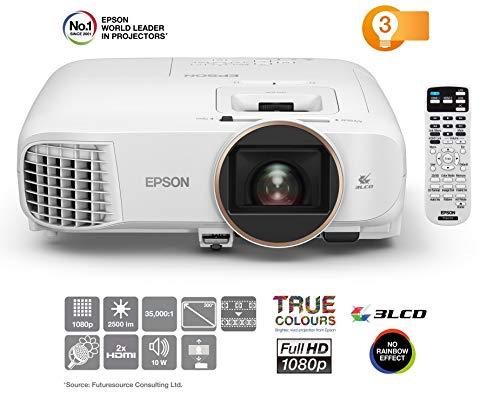 Epson EH-TW5650 3LCD-Projektor (Full HD, 2500 Lumen, 60.000:1 Kontrast, 3D)