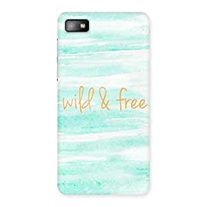 Neo World Wild And Free Back Case Cover for Blackberry Z10