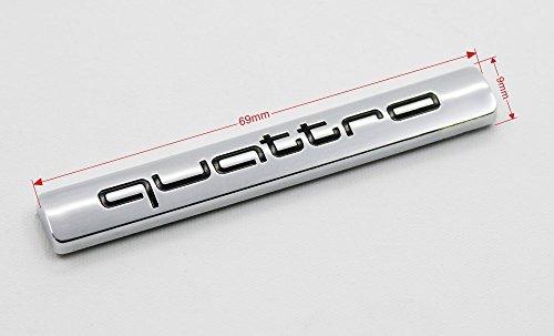 GOOACC® 3d emblema adhesivo Audi A4A5A6A7A8Q5Q7TT