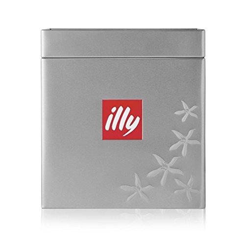 Illy Würfel - Aluminium Kaffeedose