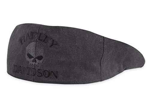 Harley-Davidson Ivy-Mütze Skull 99471-10VM Herren Hat, Schwarz, XL