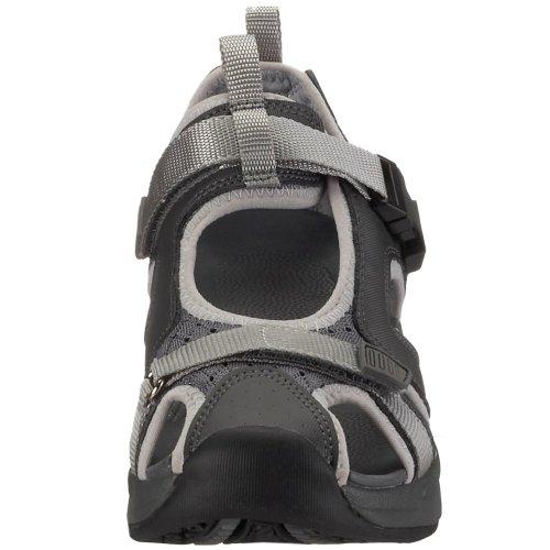 9101055 Step Comfort Sandalen Trek Chung Unisex Shi outdoor sandalen Erwachsene Schwarz anthrazit Grau Sandale WYw5q6Eq