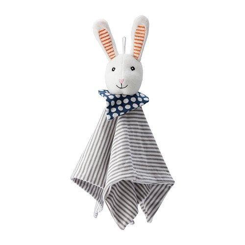 IKEA LEKA - manta Comfort con el juguete suave, conejo