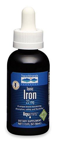 Trace Minerals Research | ionisches Eisen | 22 mg | 2 fl oz (59 ml) | vegan - Mineral Eisen