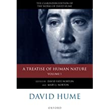 David Hume: A Treatise Of Human Nature: Volume 1: Texts (The Clarendon Edition Of The Works Of David Hume)