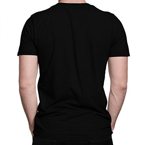 Space Invaders ATARI Kultspiel Farbe Neon Grün / Premium Fun Motiv T-Shirt XS-5XL mit Aufdruck / Ideales Geschenk Schwarz