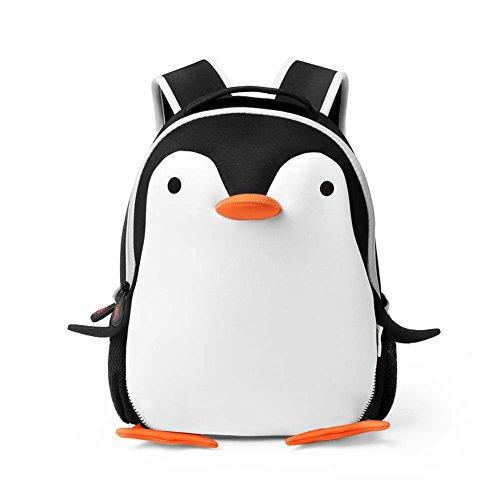 Valleycomfy Sacs à dos pour enfants Lovely Penguin Kids / Toddler Nursery Sacs d'école primaire pour garçons de 3 à 6 ans Garçons