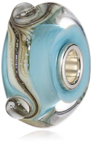 Trollbeads 61459 - Bead da donna, argento sterling 925 e vetro