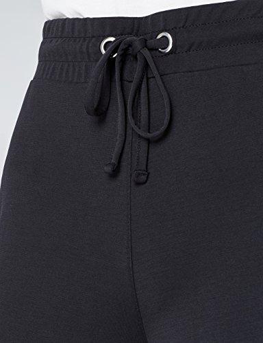 FIND Gonna Pantalone Donna a Vita Alta Nero (Black)