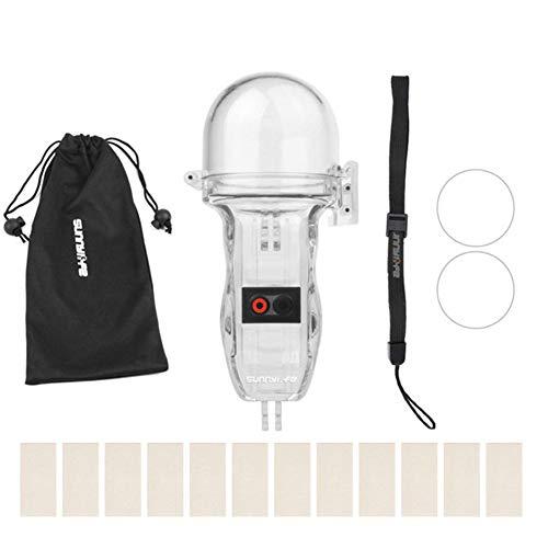 Blue-Yan Camera Unterwassergehäuse - Schutzhülle Diving Shell - Kamera-Zubehör für DJI OSMO Pocket Sports Kamera -