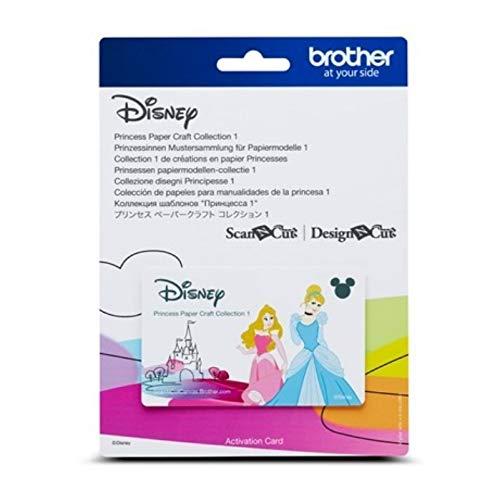 Brother Mustersammlung - Disney Prinzessinnen 1-18 Designs ()