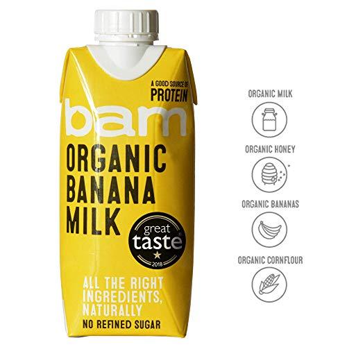 Bam Organic Banana Milk 12 X 330ml