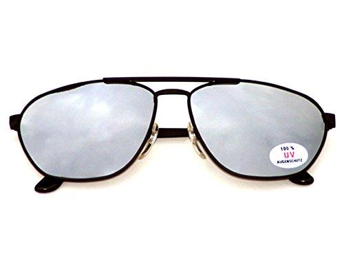 Tedd Haze Pilotenbrille Wonderland verspiegelt mit Brillen Beutel