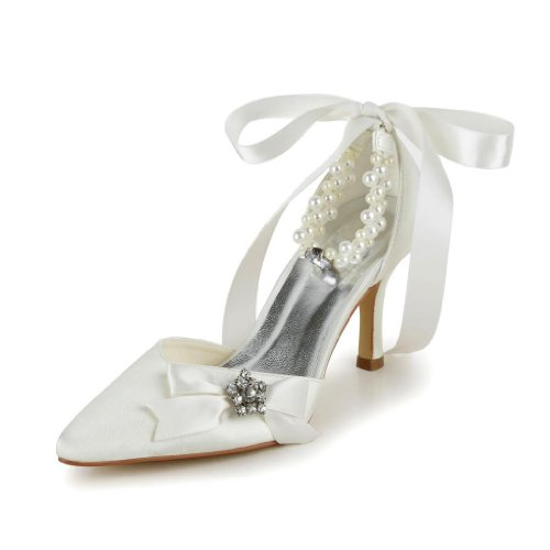Jia Jia Wedding A313A chaussures de mariée mariage Escarpins pour femme wLgA0EVt