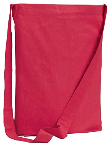 be056 bagedge 6 oz tela Sling Tote – Rosa – Taglia unica Red