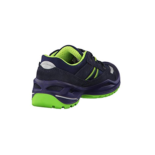 Lowa Simon Ii Gtx Lo, Chaussures de Randonnée Mixte Enfant Bleu (Navy/limone)
