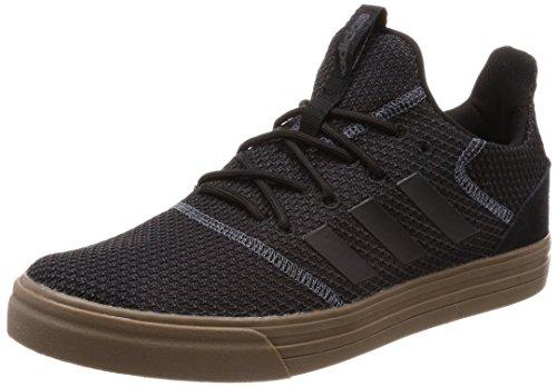 adidas Herren True Street Skateboardschuhe Schwarz Cblack/Carbon 000, 42 2/3 EU