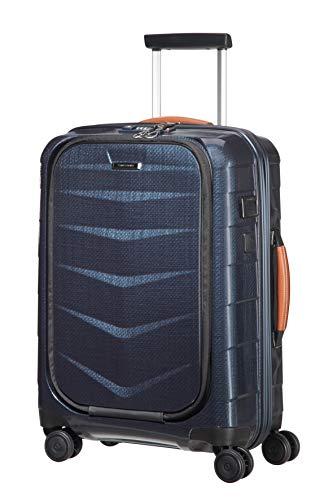 SAMSONITE Lite-Biz - Spinner with USB Port Koffer, 55 cm, 37 Liter, Midnight Blue