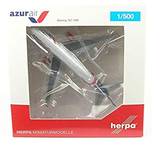 Herpa 531726 B767-300 Azur Air Alemania, Color