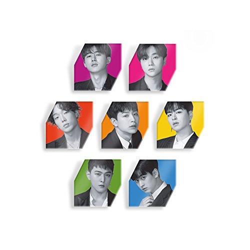 YG Entertainment Idol Goods Fan Products YG Select iKON KOLORFUL ACRYLIC BADGES