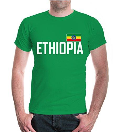 buXsbaum® T-Shirt Äthiopien Kellygreen-
