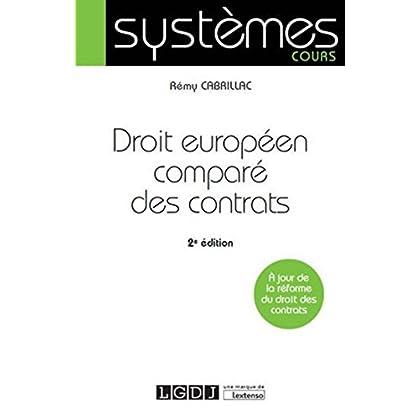 Droit européen comparé des contrats, 2ème Ed.