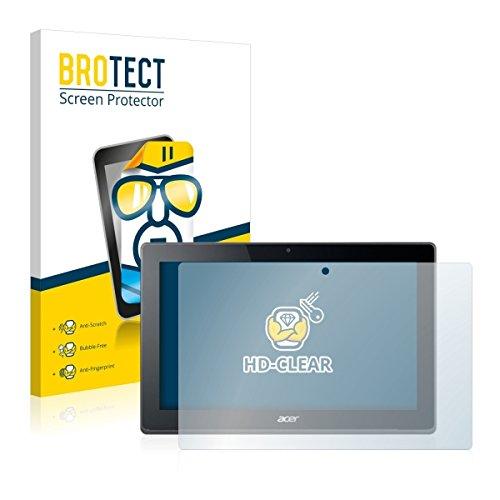 2X BROTECT HD Clear Bildschirmschutz Schutzfolie für Acer Aspire Switch 11 V (kristallklar, extrem Kratzfest, schmutzabweisend)