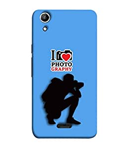 PrintVisa Designer Back Case Cover for Micromax Canvas Selfie 2 Q340 (Love Lovely Attitude Men Man Manly)