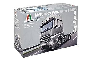 Italeri 39051: 24Mercedes Benz Actros MP4gigaspace, Vehículo