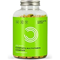 BULK POWDERS Complete Multivitamin Complex, Pack of 270 Tablets