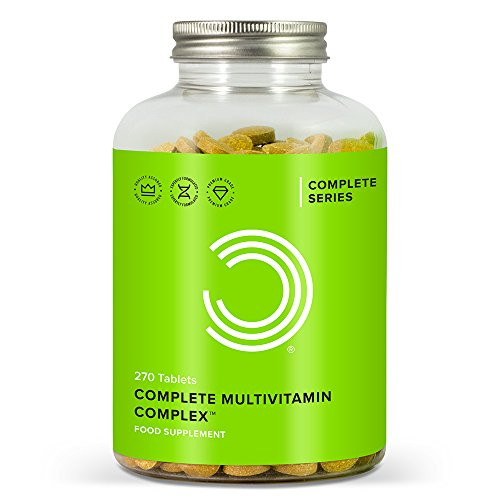 Bulk Powders Complete Multivitamin Komplex, 270 Tabletten