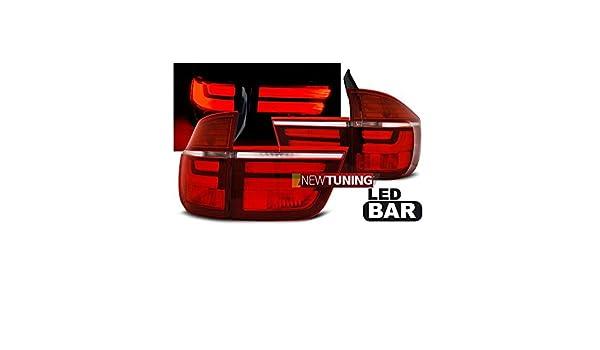 FEUX ARRI/ÈRE BMW X5 E70 03.07-05.10 ROUGE BLANC LED