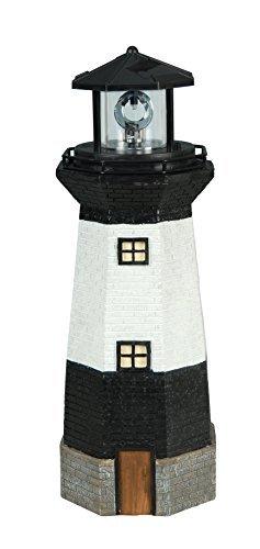 Moonrays 95961 Solar Rotating LED Lighthouse Light by Moonrays