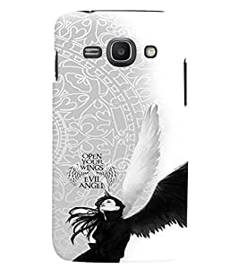 PRINTVISA Abstract Angel Case Cover for Samsung Galaxy J1