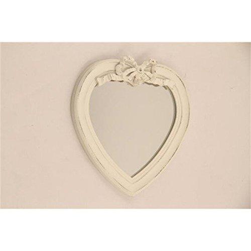 Espejo-corazn-madera-blanco-lazo