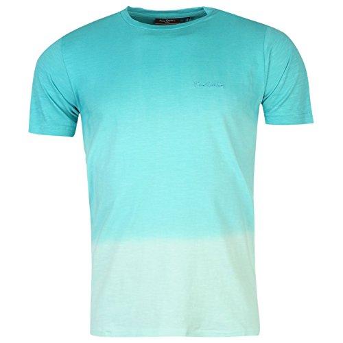 cheap for discount 4c4d2 e0e56 Pierre Cardin Herren Dip Dye T Shirt Kurzarm Rundhals Sommer ...