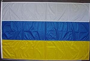 Flagge Fahne Juist, ca. 150 x 250 cm, 160 g/m² Polyesterwebware Premiumqualität