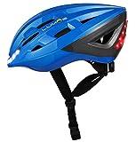 Lumos Kickstart Fahrradhelm, Lite Version, Chromium Blue