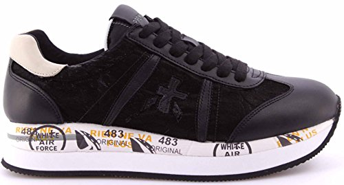Premiata Conny 1806, Zapatillas deportivas para mujer, negro, 39