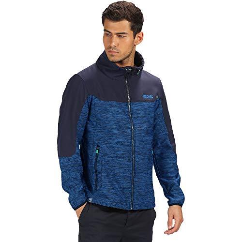 Regatta Mens Sender Warm Woven Softshell Zip Up Jacket - Stretch Woven Jacket