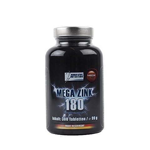 Zink Tabletten - hochdosiert Zinc 600 Stück Zinkgluconat für Stoffwechsel + Immunsystem + Fruchtbarkeit + Haut + Haare