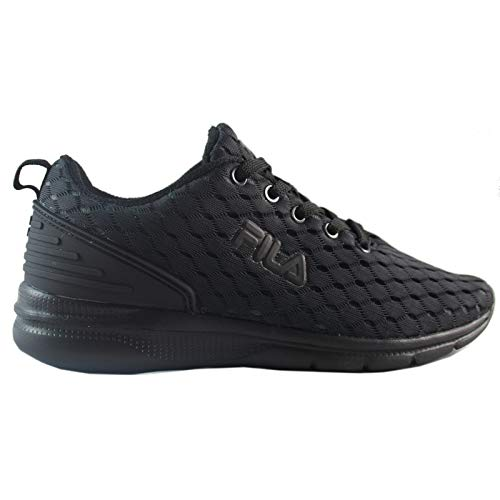 Fila - Fury Run 3 Total Nero Sneakers Scarpe Donna Corsa Running Fitness Sport - 37, Total Nero