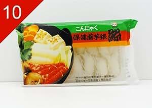 10 x Shirataki Nudeln Knoten 330g - Beta Food - Abtropfgewicht 210g China